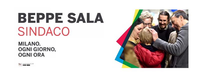 Beppe Sala – Elezioni comunali di Milano 2016