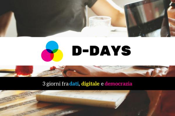 D-Days: 3 giorni fra dati, digitale e democrazia